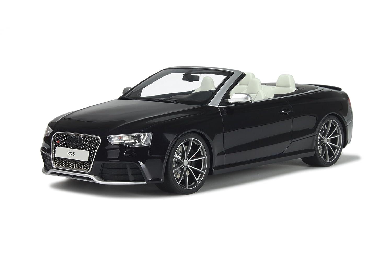 Audi A5 RS5 Cabrio SchwarzModellauto hT093 GT-Spirit 1 18