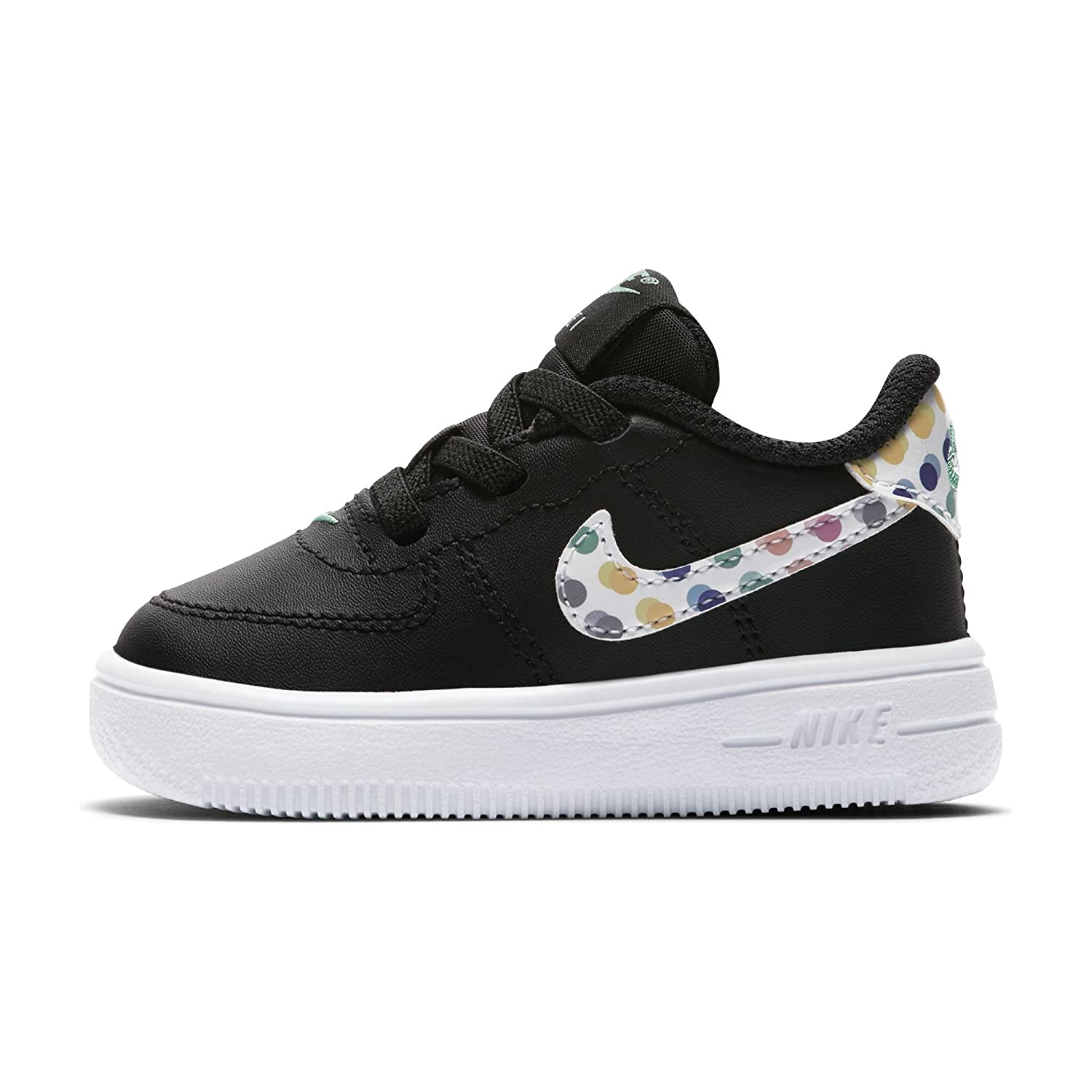Nike Air Force 1 rsquo;18 Print TD Retro, Schuhe Herren  21 EU|Black/White-green Glow