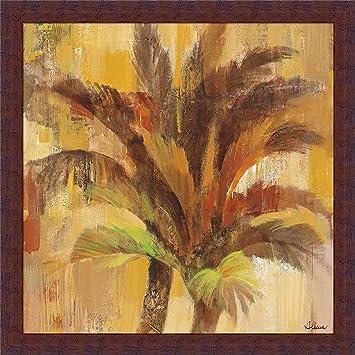 Amazon.com: Island Breeze II Albena Hristova Palm Trees Abstract ...