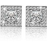 Mode Ohrringe Damen Ohrschmuck Earrings 925 Sterling Silber Ohrstecker Schmuck Geschenk