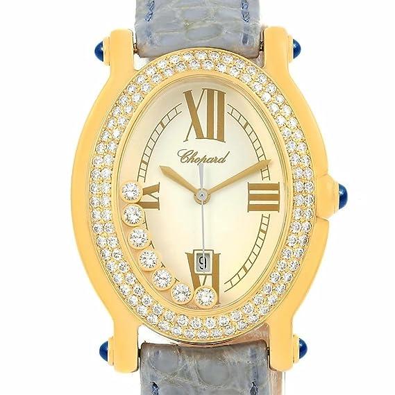 Chopard Feliz Diamantes Cuarzo Mujer Reloj 27/4515 - 23 (Certificado) de segunda mano: Chopard: Amazon.es: Relojes