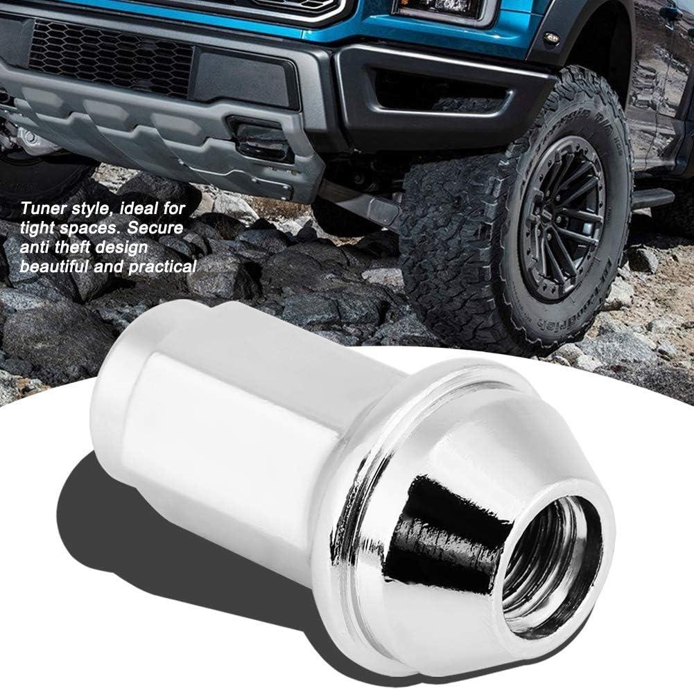 7L1Z101A 611-288 Premium Car Wheel Nut Qiilu 24Pcs Wheel Locking Lug Nuts fit for Ford F150 Expedition Navigator 4L3Z-1012A