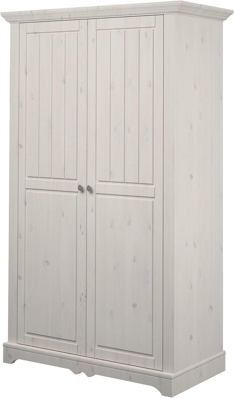 Whitewash pine Steens Lotta 2 Door Robe