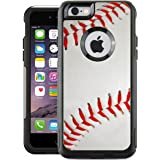 Protective Designer Vinyl Skin Decals for OtterBox Commuter iPhone 6 / 6S Case - Baseball Design Patterns Only SKINS and NOT Case