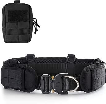 QLT Tactical Belt for Men,Battle Belts Tactical Collocation Concealed Carry Belt
