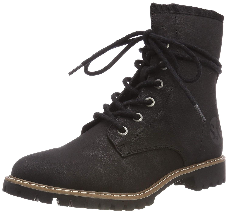 S.Oliver Damen Damen Damen 5-5-25247-21 001 Combat Stiefel 3e80d1
