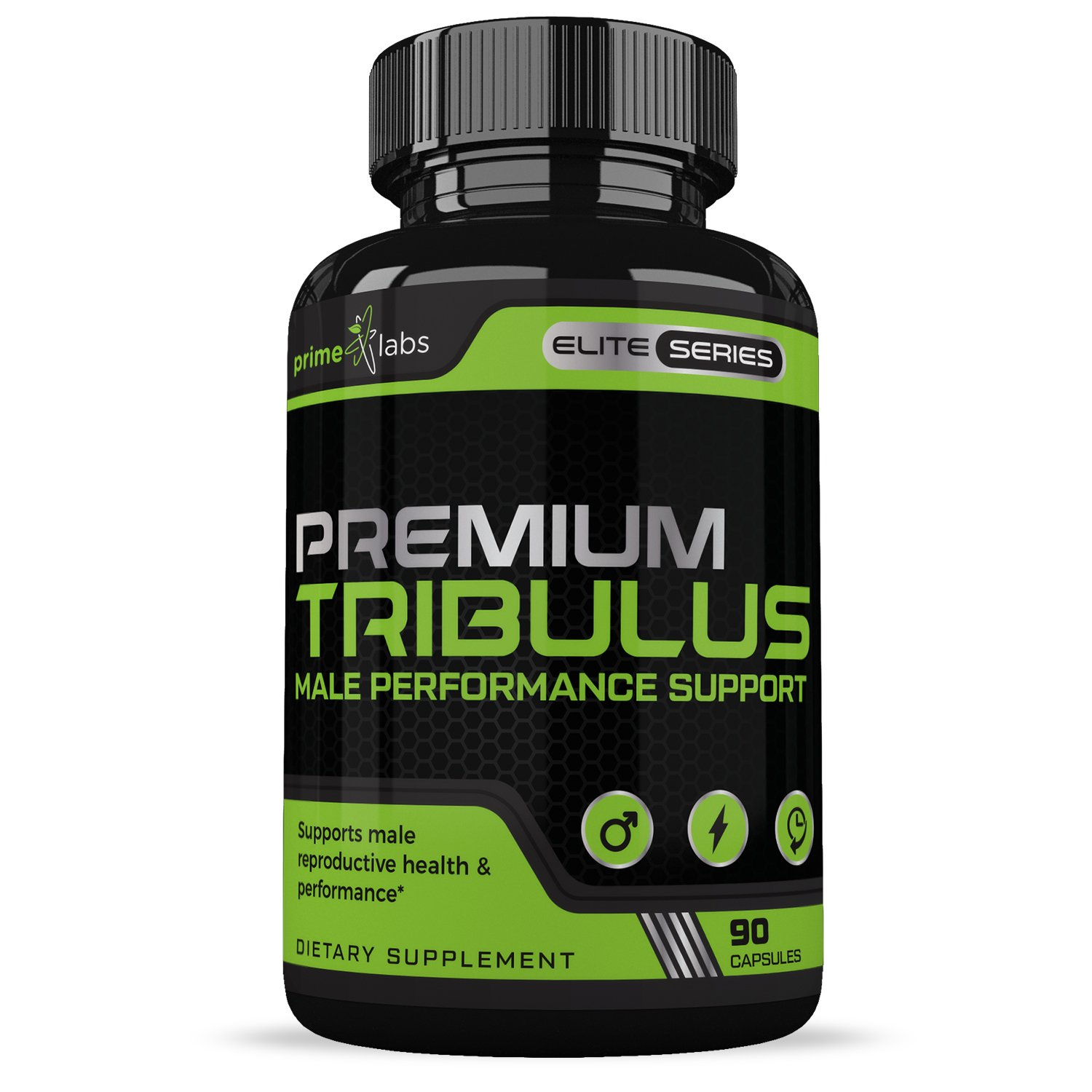 Premium Tribulus Terrestris :: Male Performance Support :: Promotes Reproductive Health :: Encourages Healthy Workouts Via Nitric Acid Release :: All Natural Supplement :: 90 Capsules Per Bottle