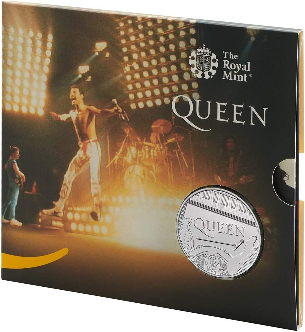 Royal Mint The Queen /£5 Brilliant Uncirculated Coin Live