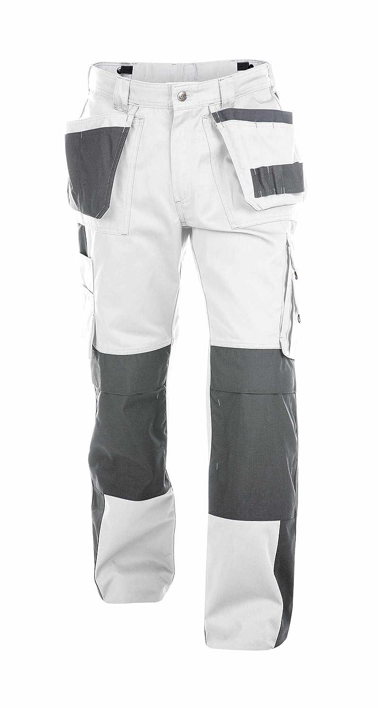 Dassy Seattle weiß /grau Arbeitshose / Bundhose Diensthose 200428-61-6141