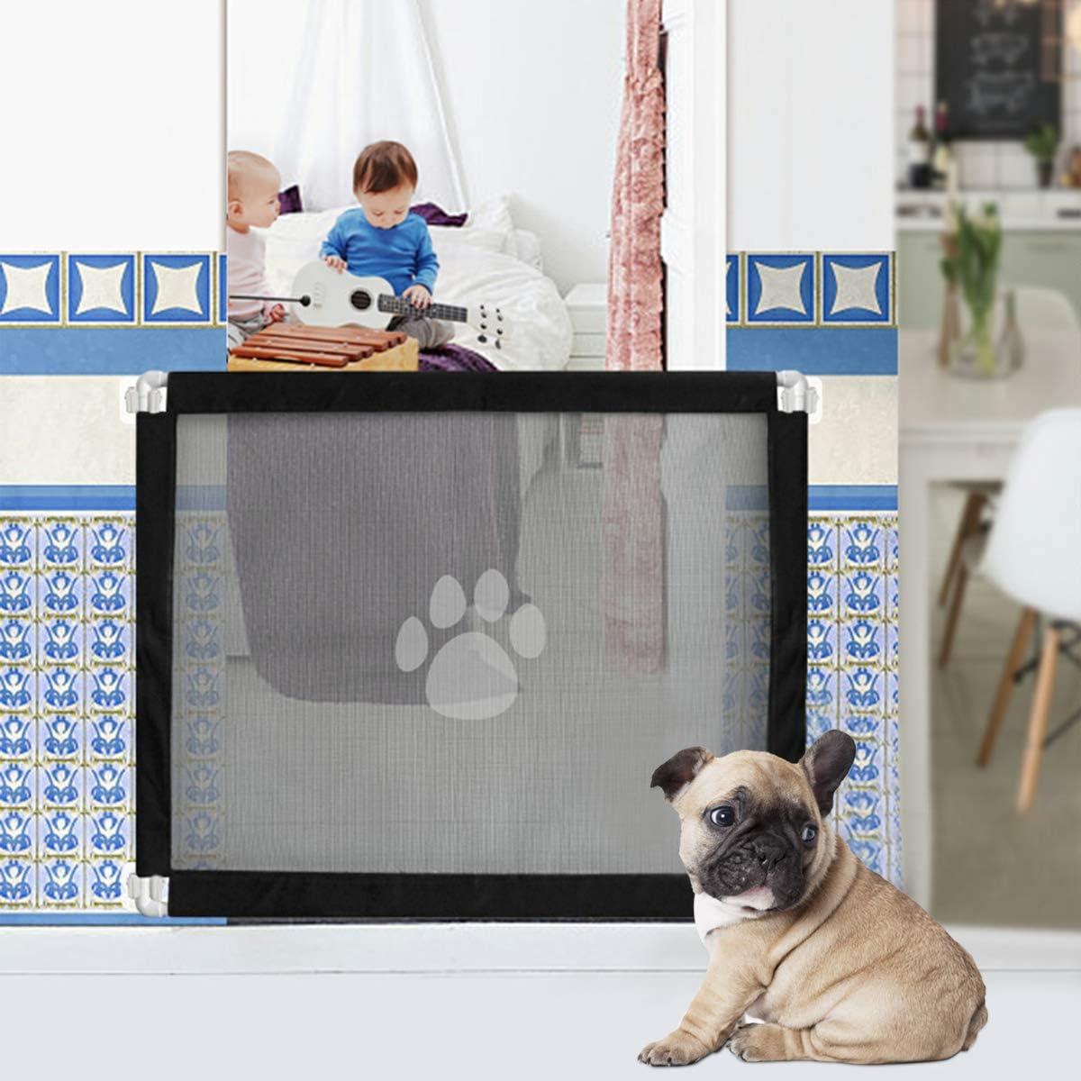 Hunde /& Katzen Namsan Magic Gate Hundeschutzgitter Hundebarrieren 180 X 72 cm Hundebarrieren Faltbar Hunde T/ürschutzgitter f/ür Babys