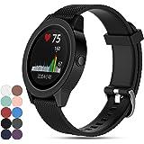 For Garmin Vivoactive 3 GPS Smartwatch Strap Band, iFeeker Replacement Soft Silicone Sport Quick Release Watch Strap Wriststrap Bracelet for Garmin Vivoactive 3