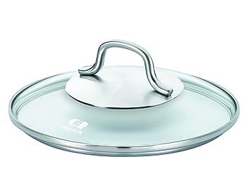 Beka 12379144 - Tapa para sartenes y ollas (Cristal, 14 cm): Amazon.es: Hogar