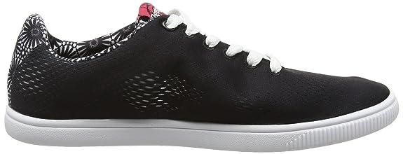 Amazon.com | Desigual Shoes_Camden 2, Women's Low-Top Sneakers, Black (2000)  | Tennis & Racquet Sports