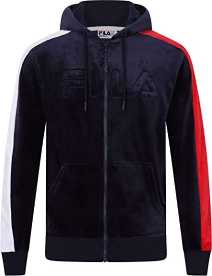 Fila Felpa Uomo Men King Velour fz Track Jacket 684430 003