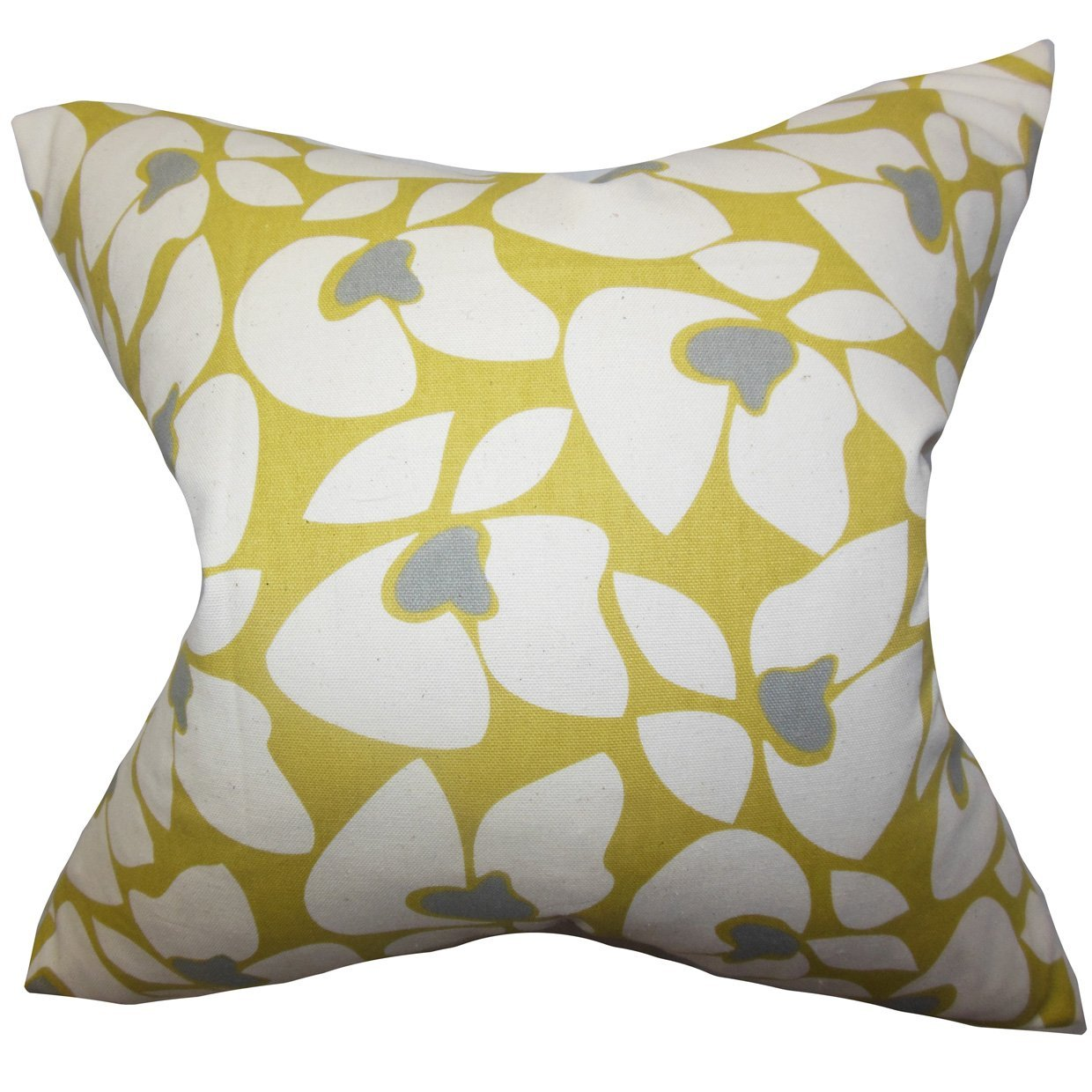 King//20 x 36 The Pillow Collection Zaza Geometric Bedding Sham Yellow