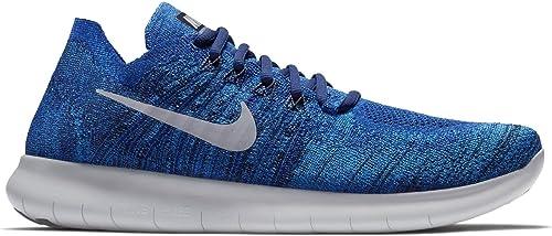 modulo elicottero Audizione  Nike, scarpe per uomo Free Run Flyknit 2017, DEEP ROYAL BLUE/WOLF GREY-,  12.5: Amazon.it: Scarpe e borse