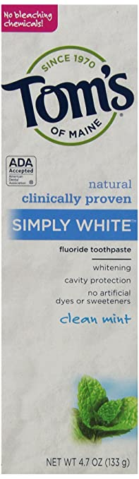 Toms of Maine Toothpaste Just.