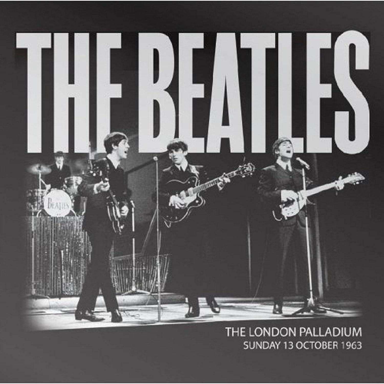 The Beatles Fridge Magnet Palladium 1963 Poster New Official 76Mm X 76Mm Black
