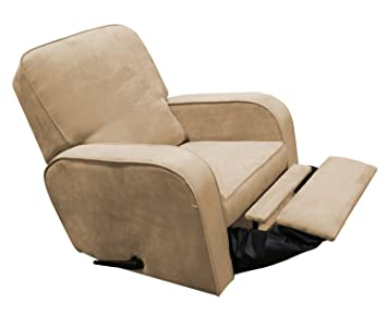 quality design 3bbd3 b5ca3 The Rockabye Glider Sunny Recliner, Micro Tan (Discontinued by Manufacturer)