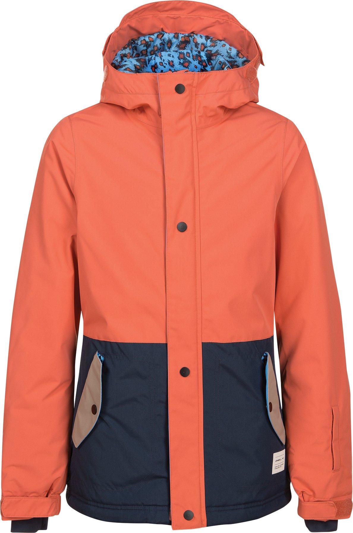 O'Neill Girls Flare Jacket, Burnt Sienna, Size 12
