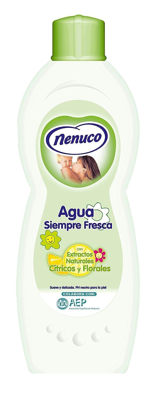 Nenuco Agua de Colonia Siempre Fresca 600 ml 101379 bebé cítricos florales