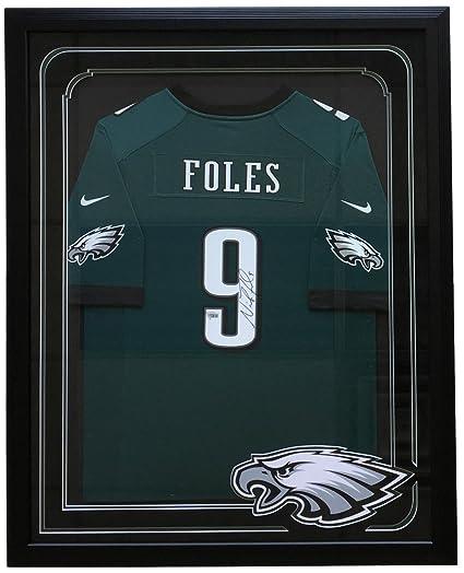 39739ce5381 Nick Foles Signed Framed Philadelphia Eagles Green Nike Game Replica Jersey  Fanatics