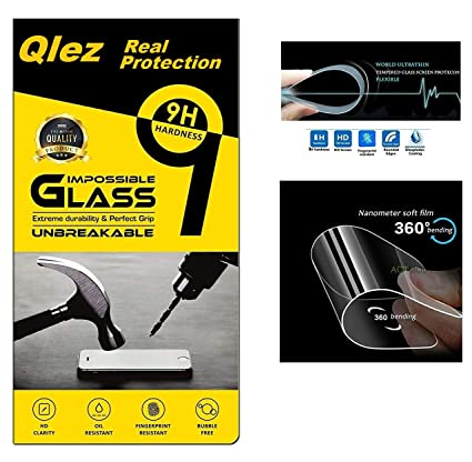 Qlez Ultra Clear HD Quality Unbreakable Fiber Tempered Glass for LeEco Letv 1s  Transparent  Screen guards