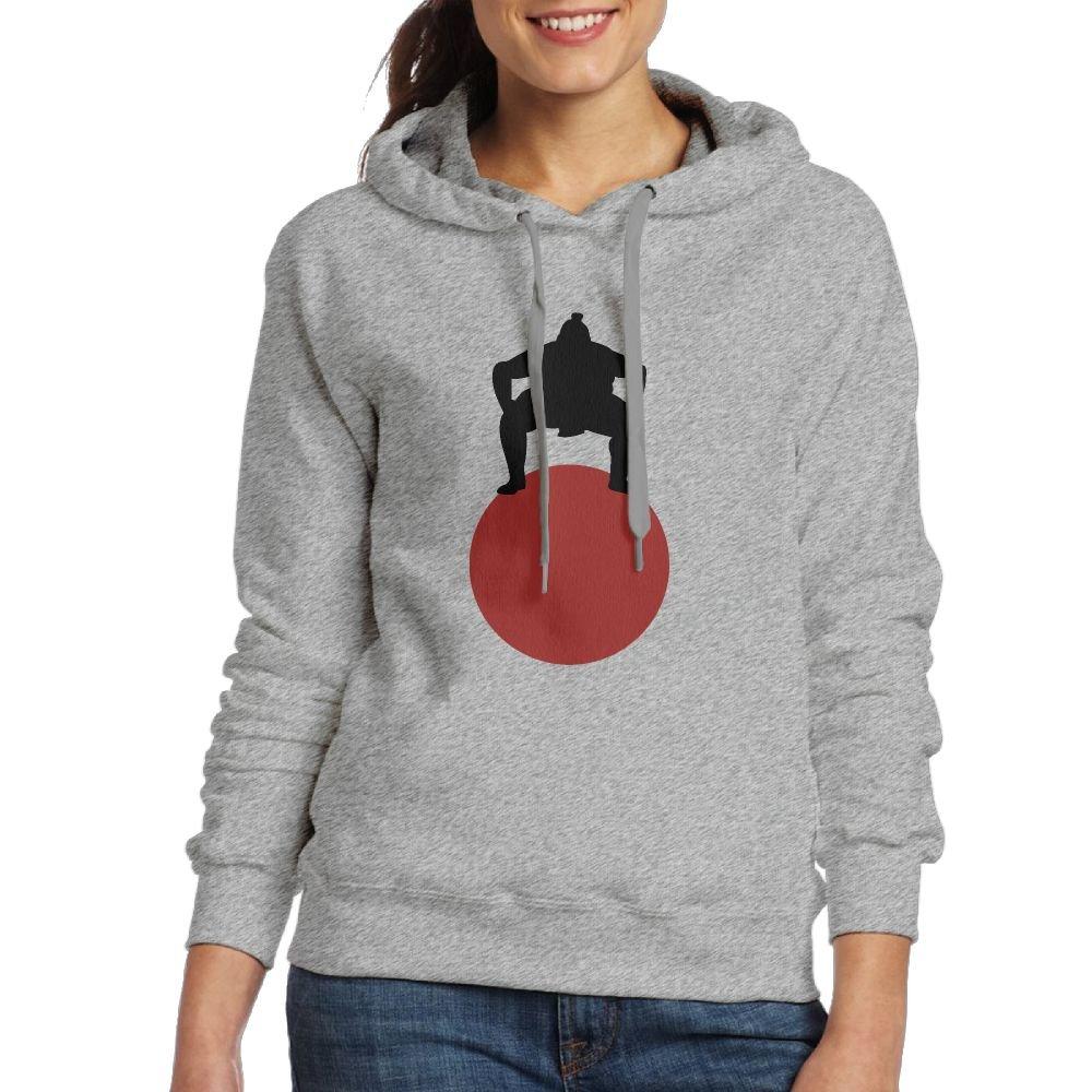 Corelosa Sumo Wrestling Women's Hooded Sweatshirt