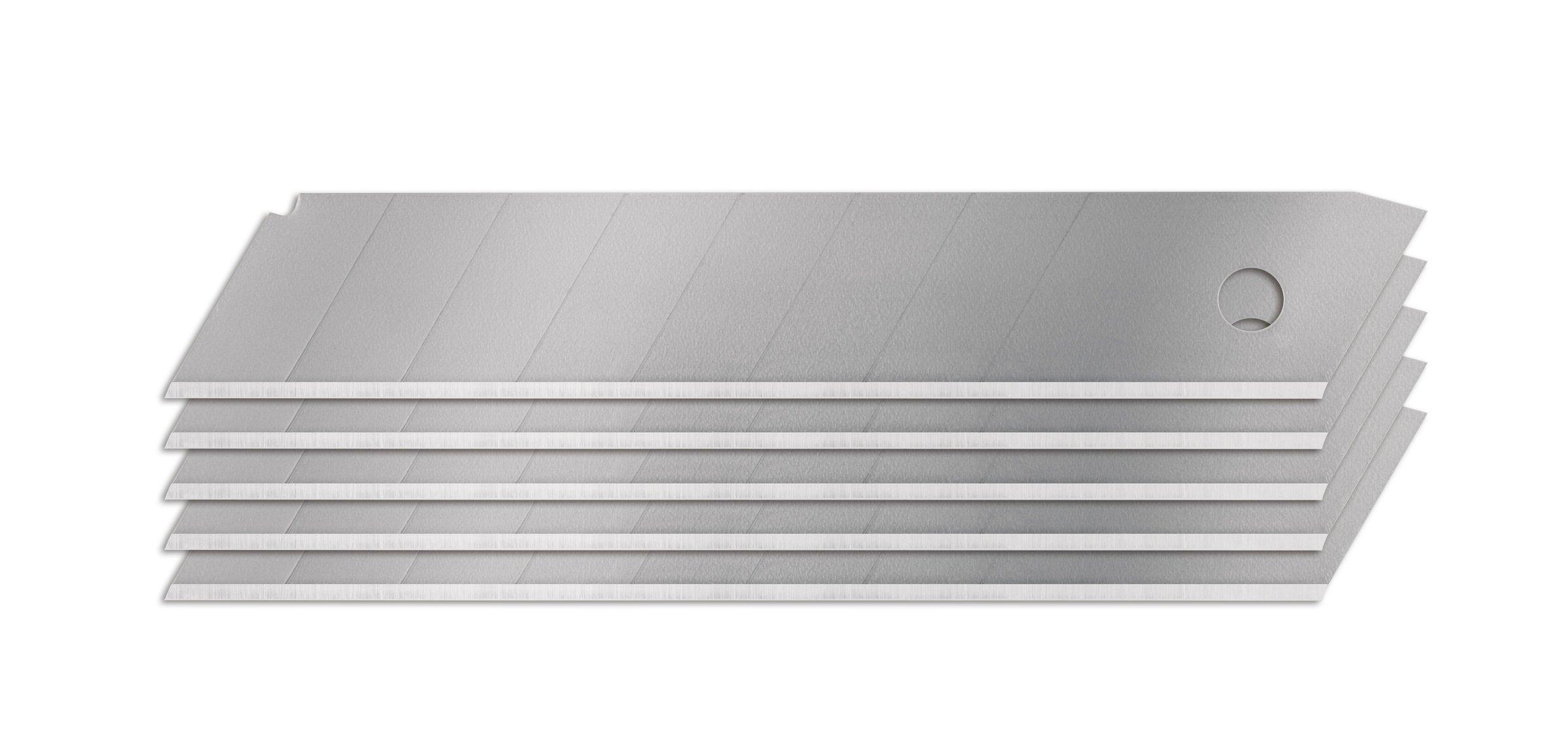 Fiskars 144770-1001 18mm Snapp-Off Utility Blade, 5 Pack