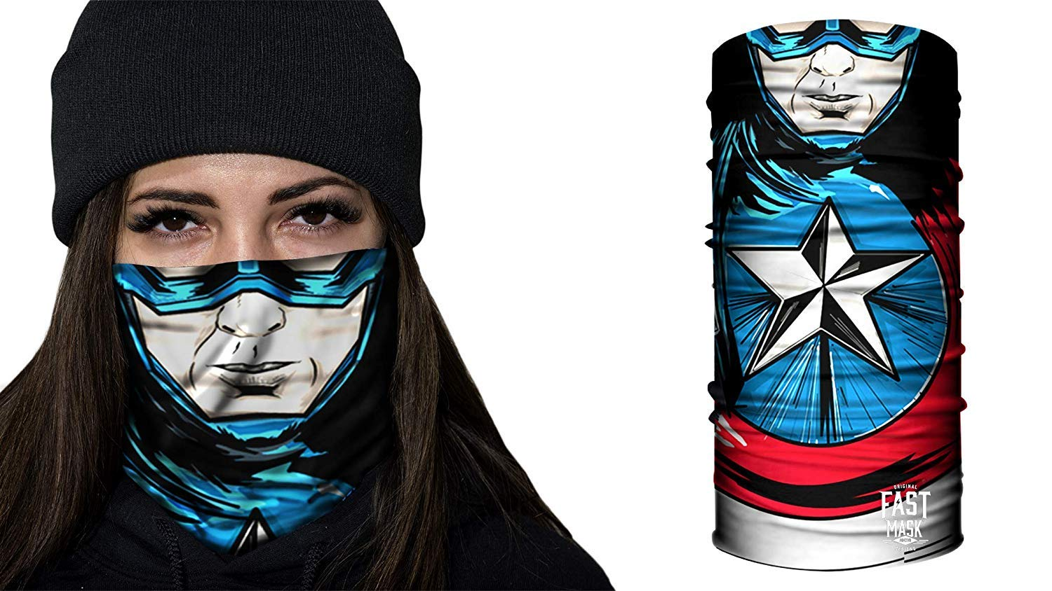 Fast Mask Face Shield Unisex Anonymous