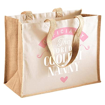 Nanny Gift Birthday Bag Personalised Present