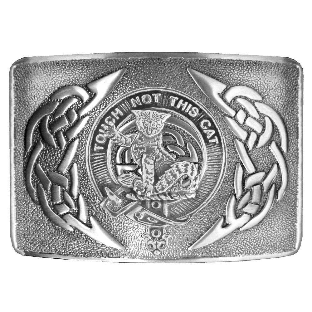 MacGillivray Scottish Clan Crest Kilt Buckle
