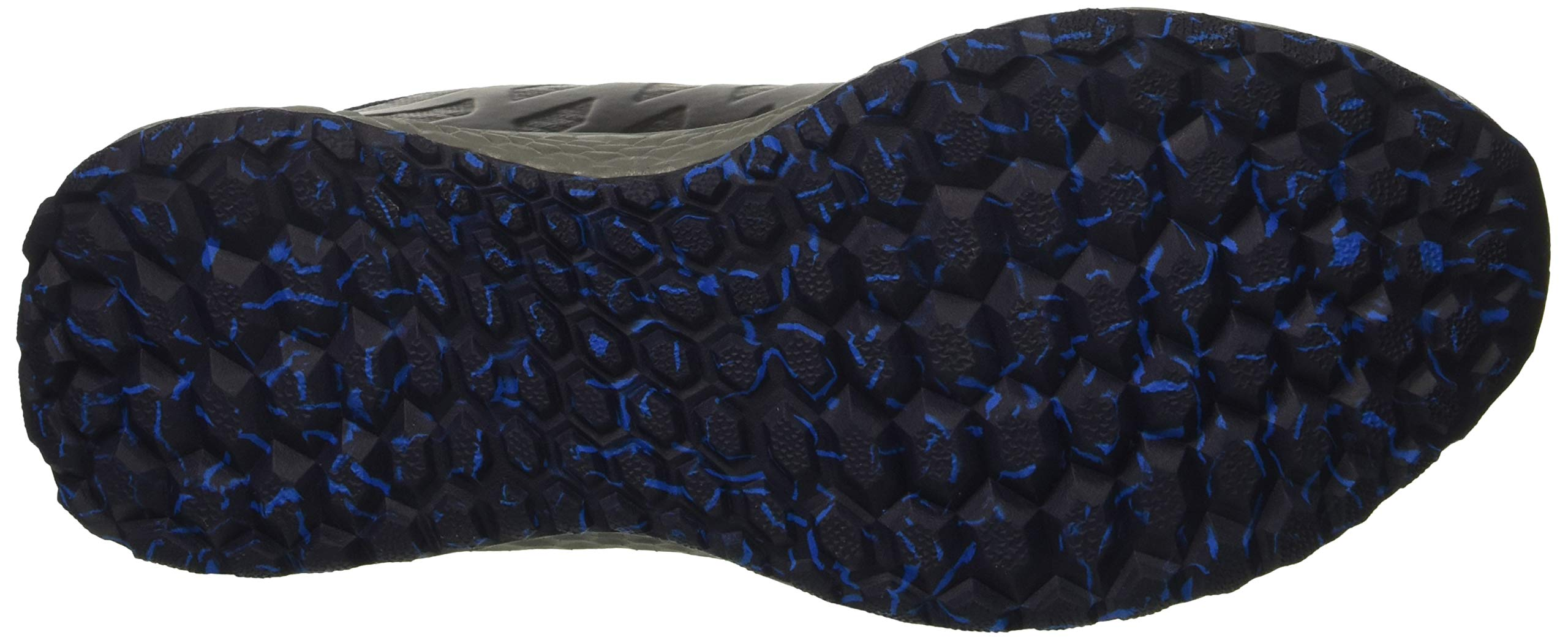 New Balance Men's Kaymin V1 Fresh Foam Trail Running Shoe Pigment/Laser Blue 1.5 D US by New Balance (Image #3)