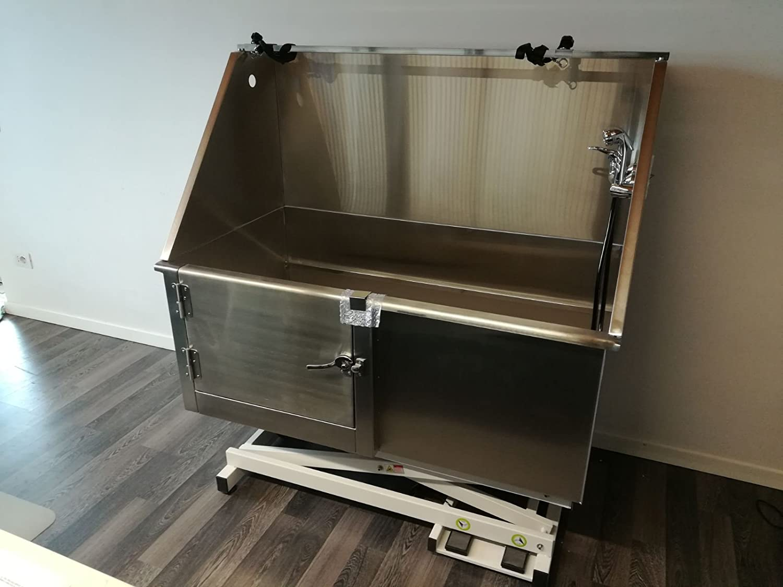 Vasca Da Toelettatura Usata : Vasca da toelettatura lavaggio cani professionale in acciaio inox