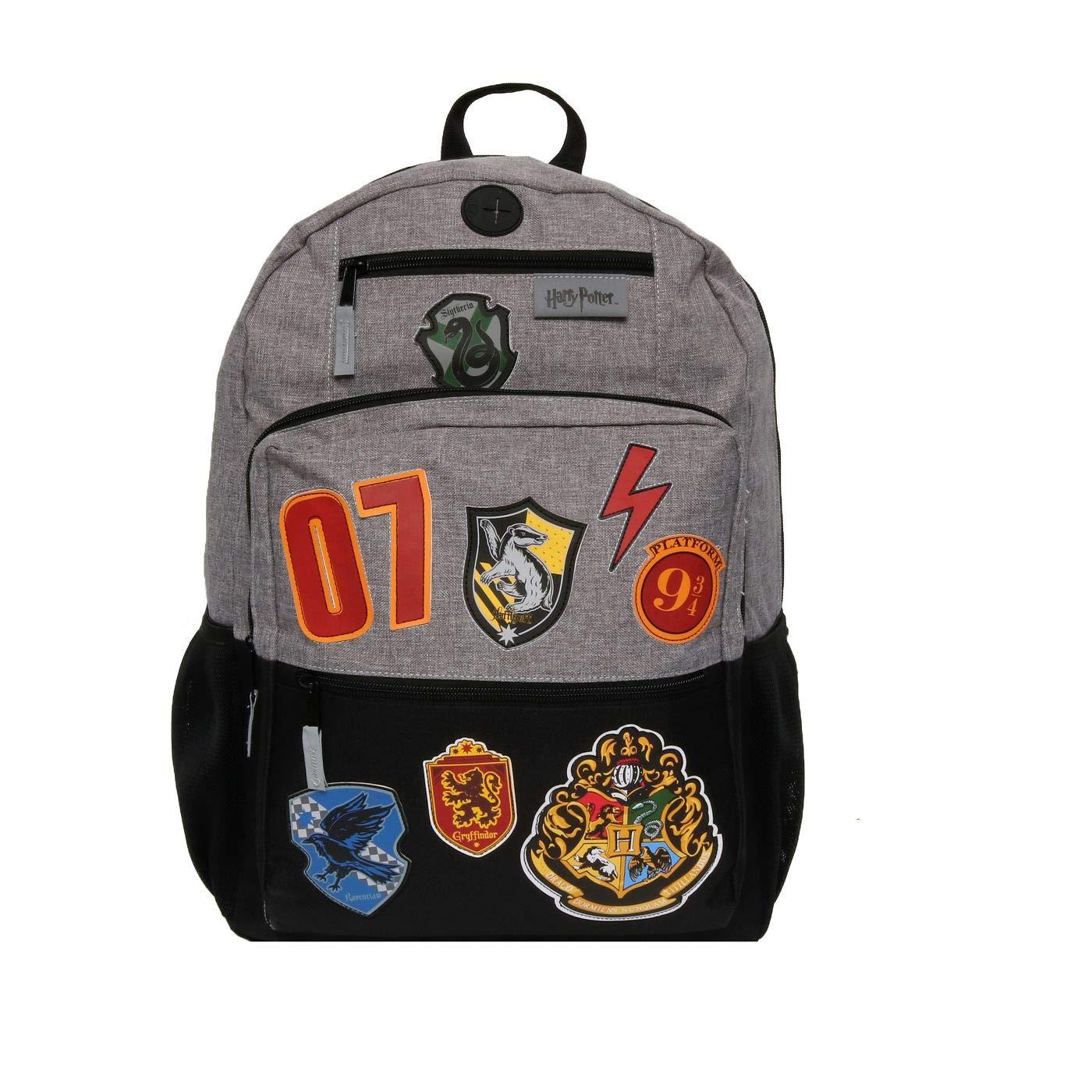 """HARRY POTTER 18"""" Hogwarts School Kids' Backpack - Black"""