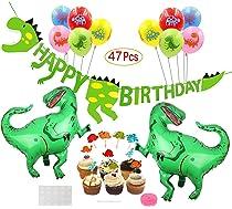 Howaf Dinosaurio Cupcake Topper de Tarta Magdalenas ...