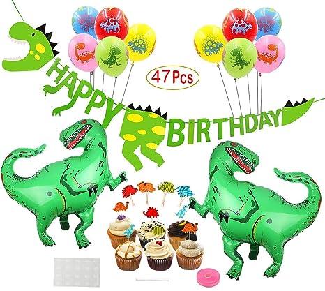 Dinosaurios cumpleaños