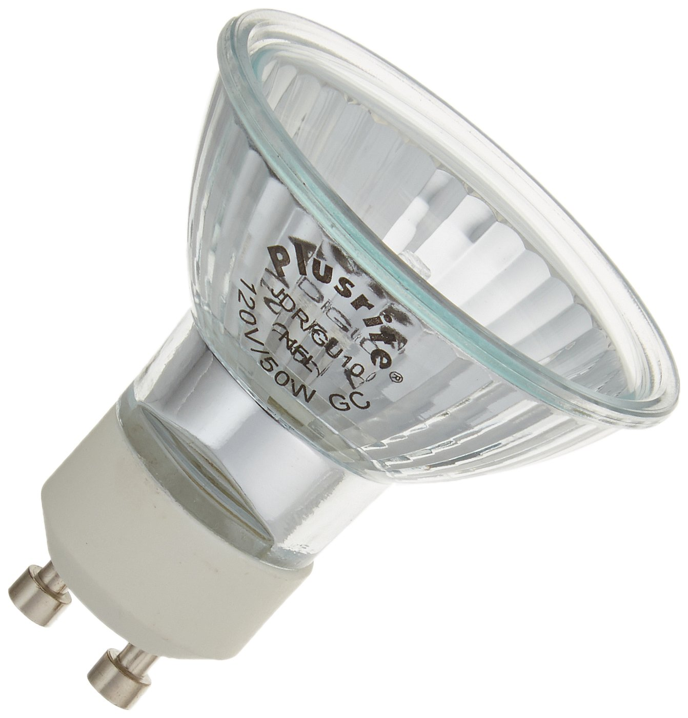 Plusrite 3463 50W GU10 MR16 Halogen Light Bulb