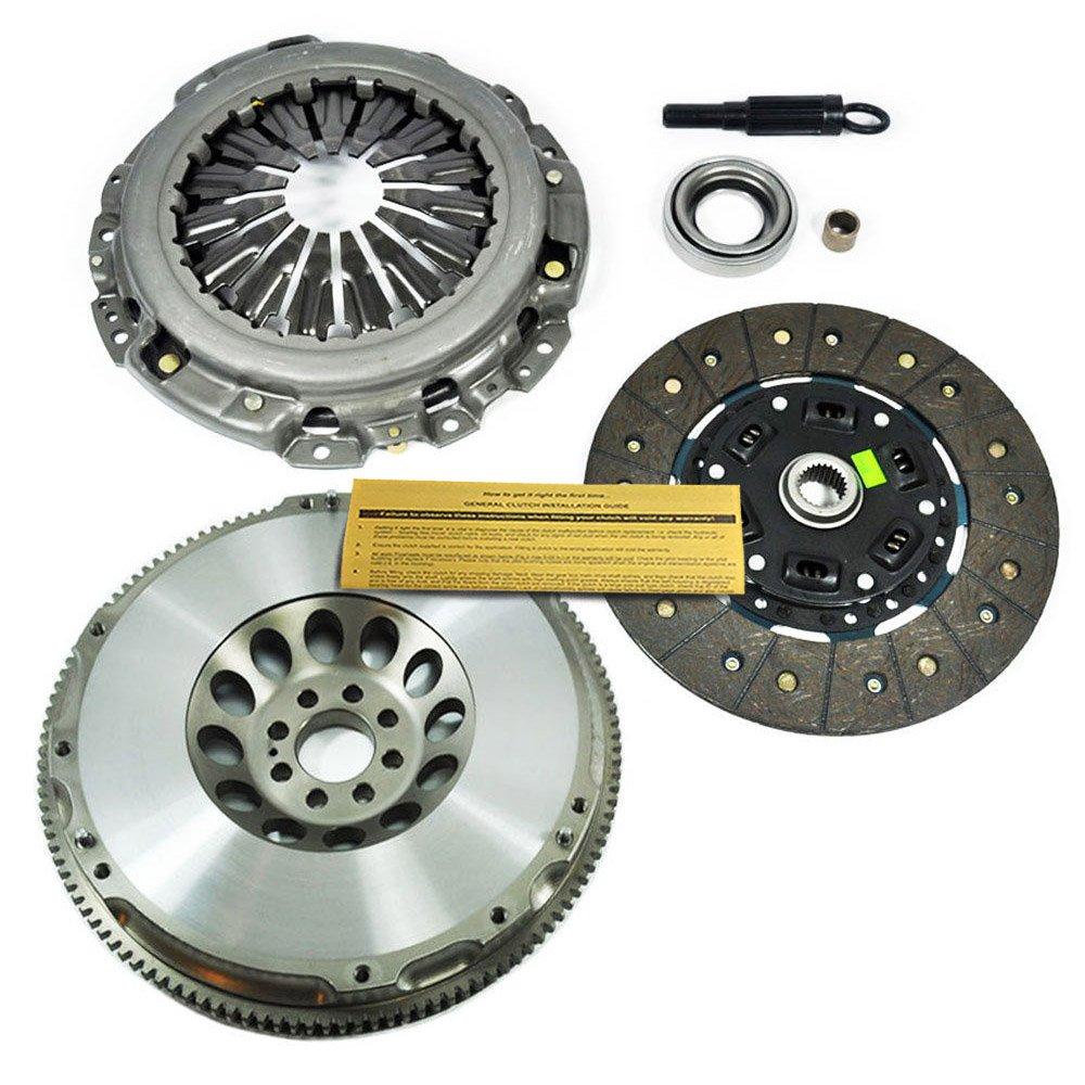 EFT Kit de embrague + cromo-molibdeno Carrera volante para Infiniti G35 Nissan 350z 3.5L de 6 cilindros: Amazon.es: Coche y moto