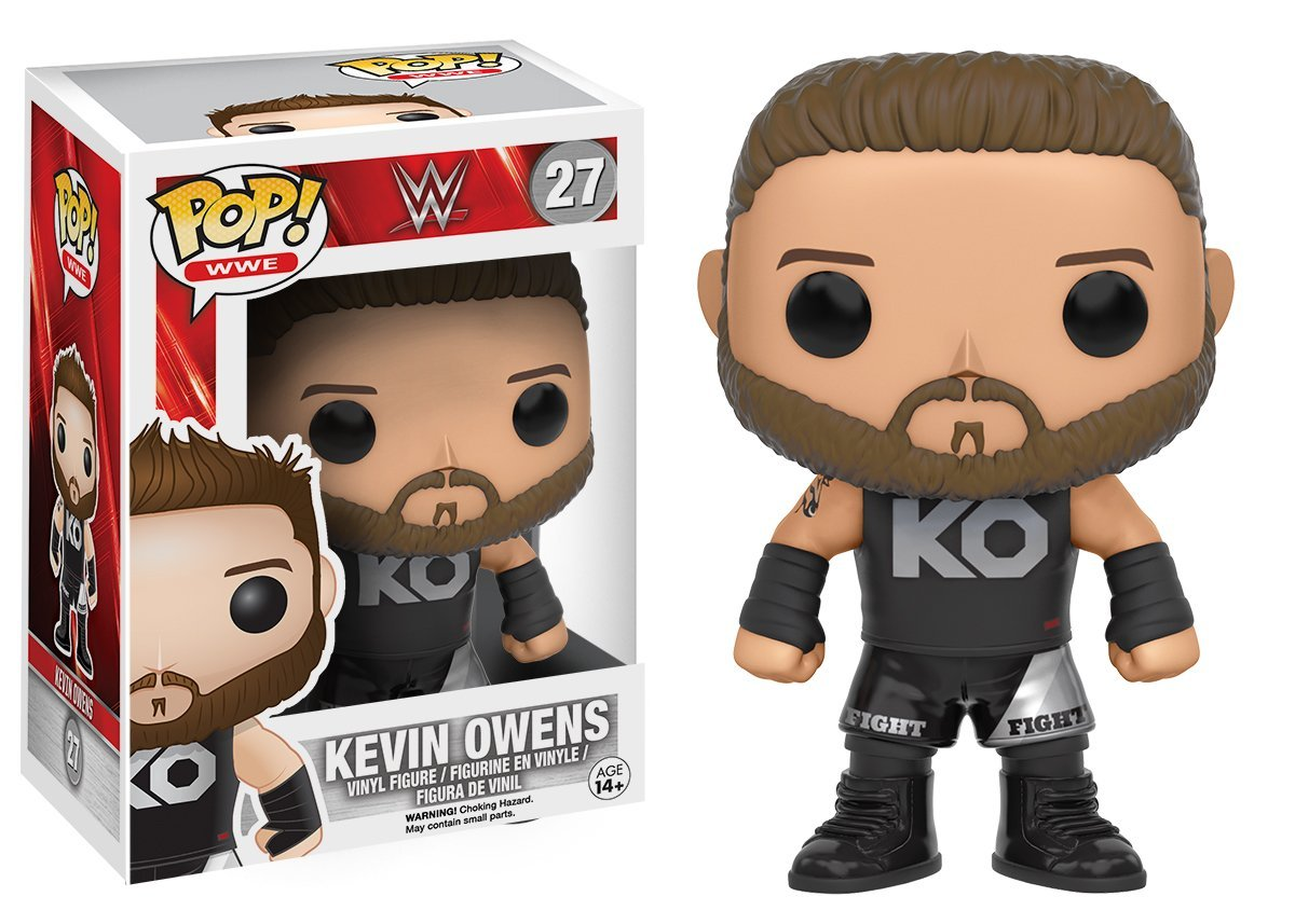 Kevin Owens Action Figure 7754 Accessory Toys /& Games Miscellaneous Funko POP WWE
