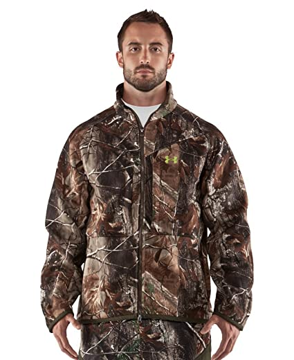 7247ece81ac8b Amazon.com : Under Armour Men's UA Rut Scent Control Jacket : Camouflage  Hunting Apparel : Sports & Outdoors