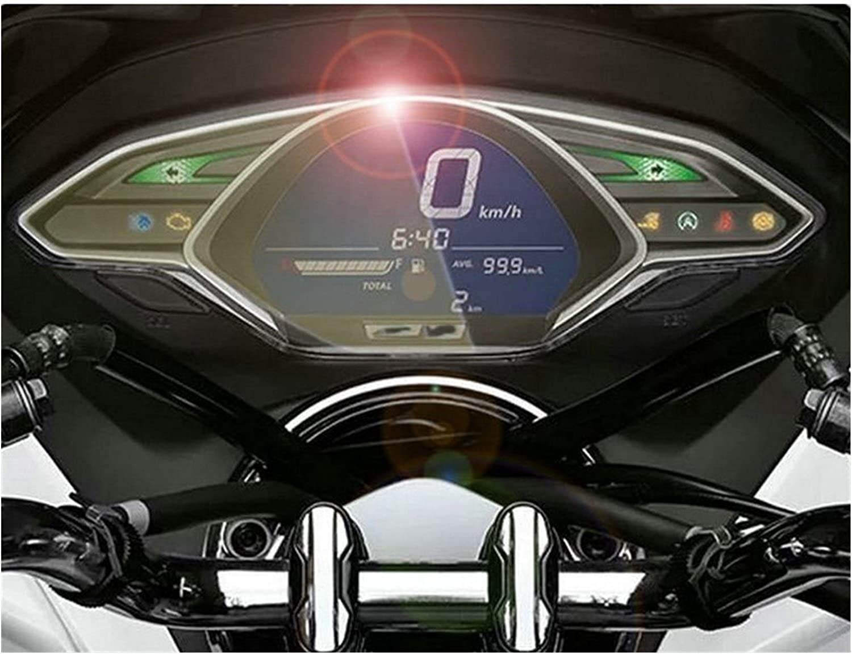 XIAOZHIWEN Veloc/ímetro de la Motocicleta Instrumento pel/ícula Protectora for Hondoa PCX 150 2018 2019