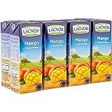 Lacnor Mango Fruit Drink, 8 x 180 ml