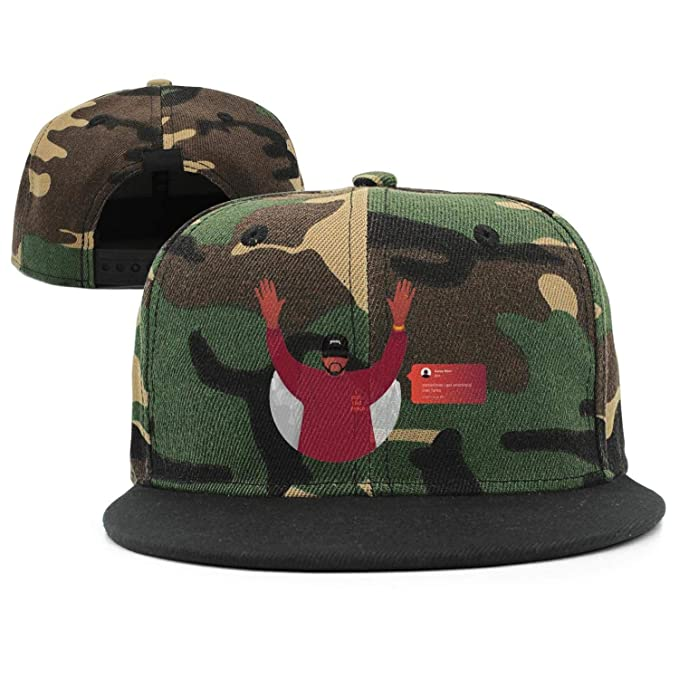 dd4b9b5d Kanye-West-Fee-Like-Pablo- Embroidered fit Cotton Baseball Snapback at  Amazon Men's Clothing store: