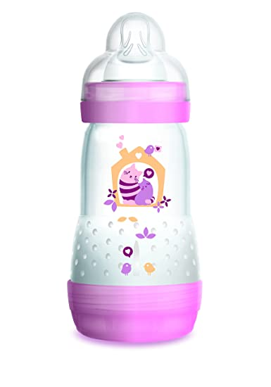 4351e7f14cf6c Amazon.com : MAM Baby Bottles for Breastfed Babies, MAM Bottles Anti ...