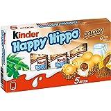 Kinder 健达Happy Hippo 可可香脆华夫饼, 10盒装(10 x 104克)