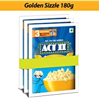 ACT II Popcorn IPC Golden Sizzle Combo Pack, 60g (Pack of 3)