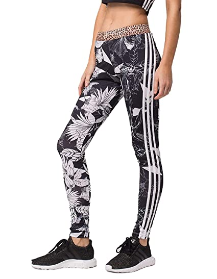 2f8eef481b6 Amazon.com: Adidas Women's Originals Printed Tights: Sports & Outdoors