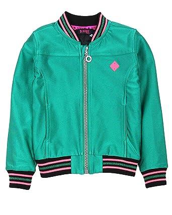 971c80198 Amazon.com: B.Nosy Girl's Shiny Bomber Jacket, Sizes 6-14: Clothing