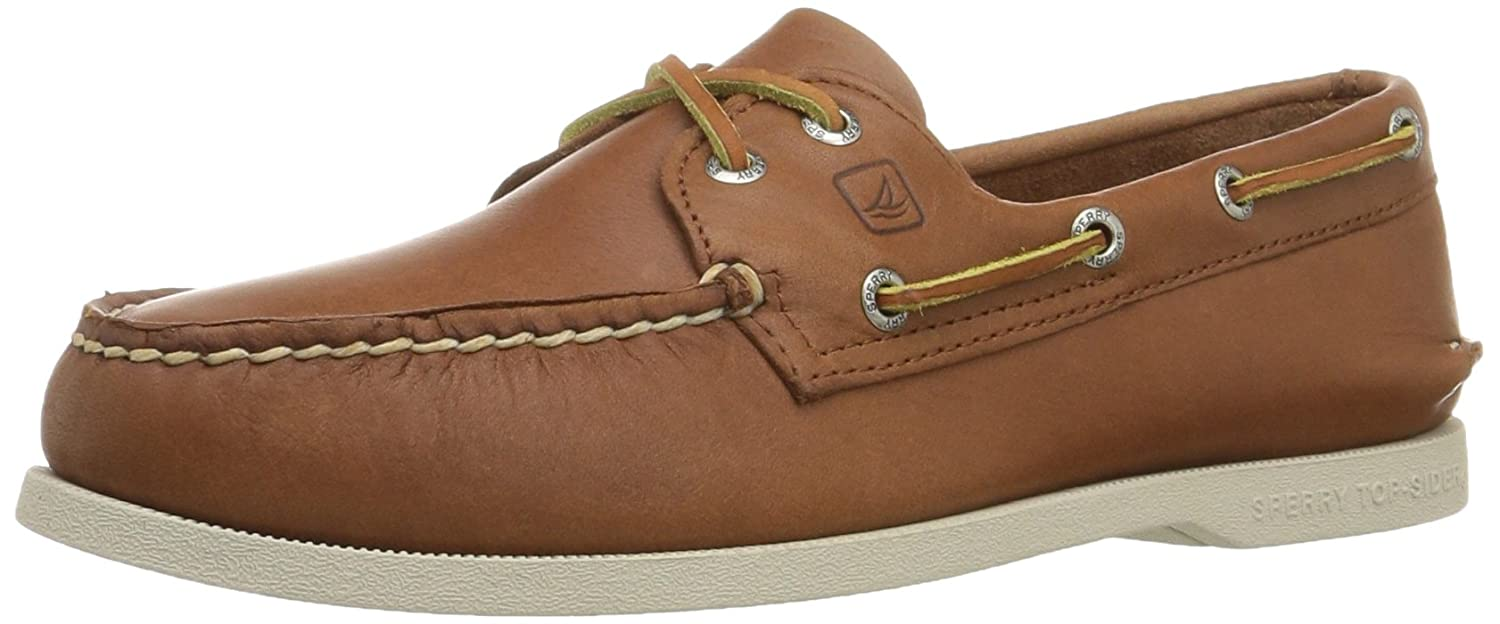 Sperry Top-Sider Men's A/O 2 Eye Boat Shoe,Tan,11.5 W US Authentic Original